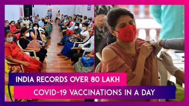 India Records Over 80 Lakh Covid-19 Vaccinations In A Day, Free Vaccine For 18+ Now Available Across Country