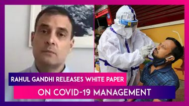 Rahul Gandhi Releases White Paper On Covid-19 Management, Says, 'Aim To Help India Tackle The Third Wave'