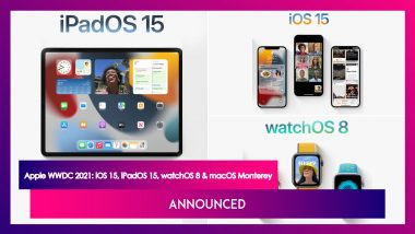 Apple WWDC 2021: macOS Monterey, iOS 15, iPadOS 15 & watchOS 8 Revealed