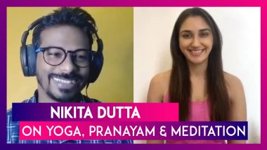 International Yoga Day: 'Kabir Singh' Hottie Nikita Dutta On Yoga And Pranayam!