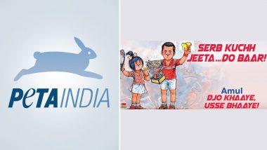 PETA Wants Amul To Take Down 'Misleading' Topical Featuring 'Vegan' Novak Djokovic