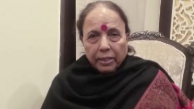 Indira Hridayesh Dies of Cardiac Arrest at Uttarakhand Sadan in Delhi, Rahul Gandhi Condoles Death of the Senior Congress Leader