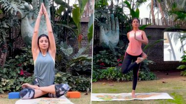 International Yoga Day 2021: Times When Shilpa Shetty Gave Us Major Fitness Goals While Performing Yoga (Watch Videos)