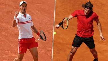 Novak Djokovic vs Stefanos Tsitsipas, French Open 2021 Final Live Streaming Online: How to Watch Free Live Telecast of Men's Singles Tennis Match in India?