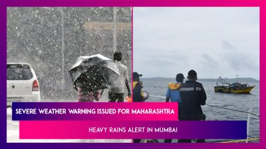 Severe Weather Warning Issued For Maharashtra: Heavy Rainfall Expected In Mumbai For Next Few Days; High Tide Dates For June 2021