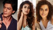 Shah Rukh Khan To Pair Up With Nayanthara In Atlee's Movie And Taapsee Pannu In Rajkumar Hirani's Film - Reports