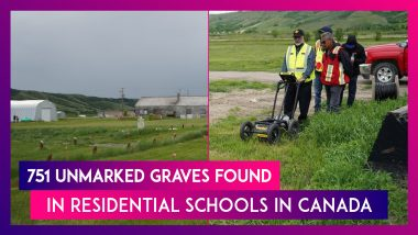 Canada: 751 Unmarked Graves Found In Residential Schools For Indigenous Children