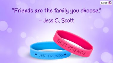 Cool Friendship Quotes for National Best Friends Day 2021 in US: WhatsApp Messages, Images, Greetings and Wishes To Send to Your BFF