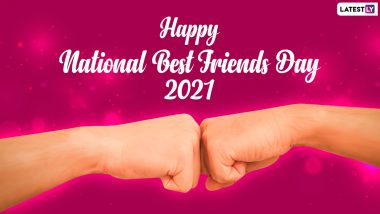 National Best Friends Day (US) 2021 Images, Wishes & Greetings: Quotes on Friendship, WhatsApp Messages and HD Wallpapers To Celebrate With Your BFF