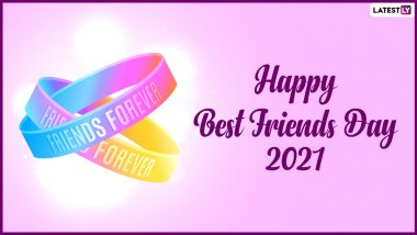 National Best Friends Day 2021 Wishes & HD Images: WhatsApp Stickers, SMS, Friendship Quotes, Messages and Greetings To Send on June 8 in US