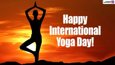 Send Yoga Day 2021 Messages, Images, HD Wallpapers, Quotes and SMS on International Day of Yoga