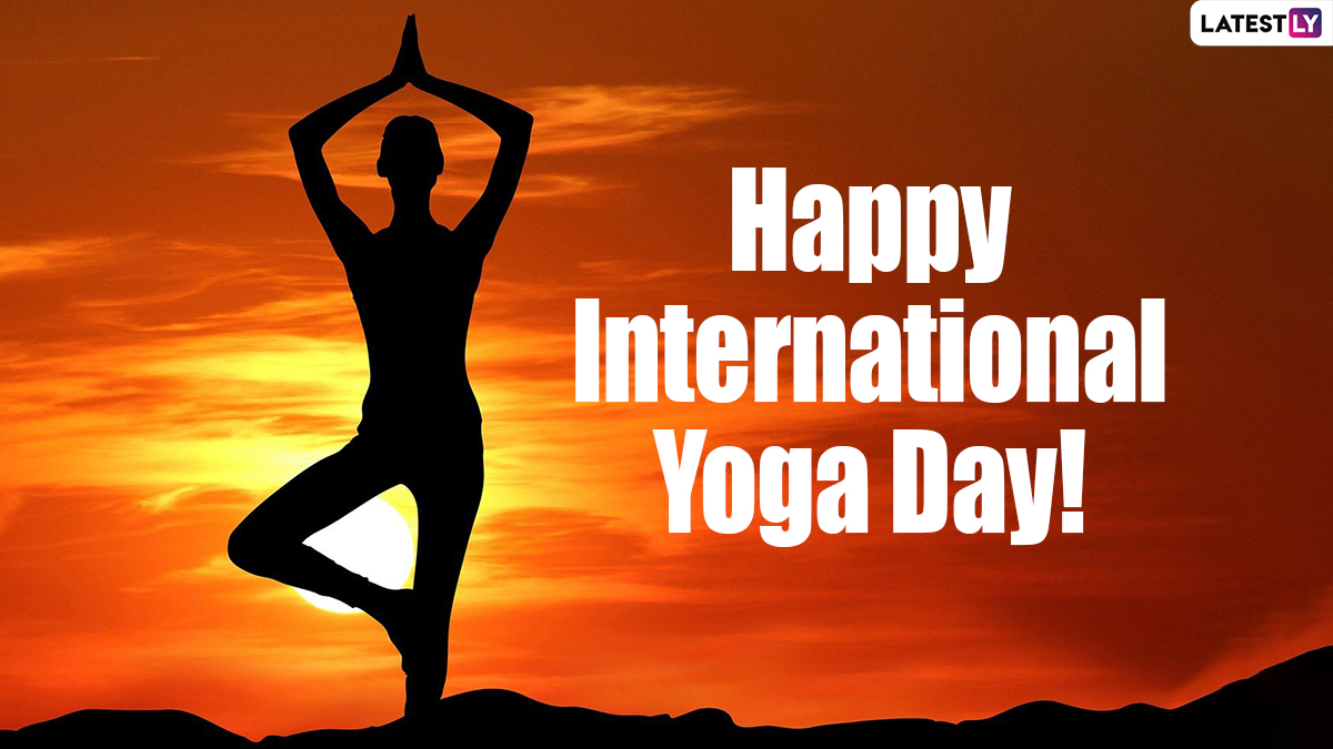 Happy International Yoga Day 2021 Wishes, Greetings & HD Images: WhatsApp Stickers, GIF Messages, Facebook Quotes and SMS to Share on June 21