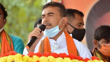 West Bengal: FIR Against Suvendu Adhikari, Brother & Aides for 'Stealing Relief Materials'; Trinamool Congress Taking Vindictive Stance, Alleges BJP