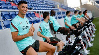 Euro 2020: Cristiano Ronaldo Pranks Teammate Pepe During Training Session, Watch Video
