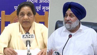 Punjab Assembly Elections 2022: Shiromani Akali Dal, Mayawati's BSP Stitch Alliance Ahead of Polls