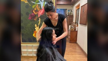 Sushmita Sen Is Daughter Alisah's 'Official Choice of Hairdresser' (View Post)