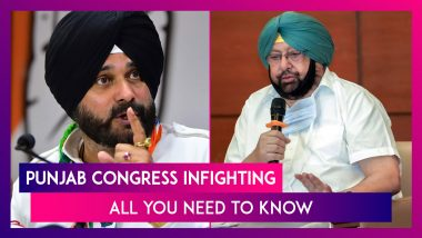 Punjab Congress Infighting: All You Need To Know