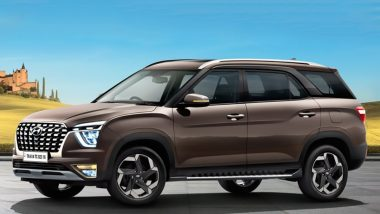 2021 Hyundai Alcazar SUV To Be Launched in India on June 18, 2021; Check Bookings, Expected Prices & Specifications