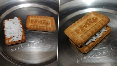Parle-G Biscuit with Rice: Twitter User's Weird Food Combo Leaves Everyone Stunned (View Photo)