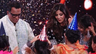 Shilpa Shetty Kundra Recalls Pre Birthday Celebration on the Sets of Super Dancer Chapter 4