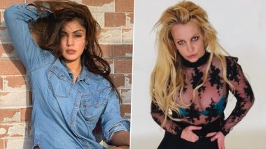 Rhea Chakraborty Comes Out in Support of Britney Spears Amid Singer's Conservatorship Hearing