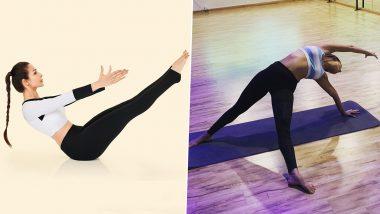 International Yoga Day 2021: From Navasana or Boat Pose to Camatkarasana or Wild Thing Pose, 5 Times Malaika Arora Has Shown Her Love For Yoga