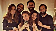 Dulquer Salmaan, Fahadh Faasil, Prithviraj Sukumaran And Their Wives Come Together For An Epic Click (View Pic)