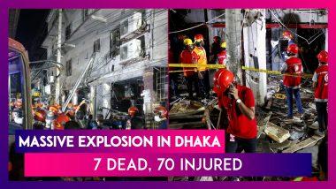 Dhaka: Massive Explosion In Moghbazar, 7 Dead, 70 Injured