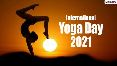 International Yoga Day 2021 Images & HD Wallpapers for Free Download Online: Wish Happy Yoga Day With Inspirational Quotes, Best Greetings, WhatsApp Messages and SMS on June 21