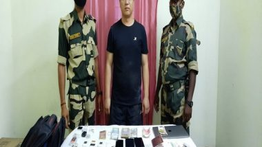India News   Chinese National Intercepted by BSF Had Taken 1,300 Indian SIMs to China