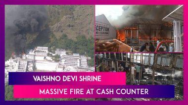 Vaishno Devi Shrine: Massive Fire At Cash Counter, No Injuries Reported