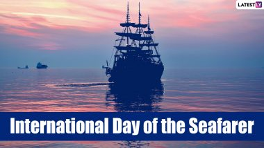International Day of the Seafarer 2021 Date and Theme: Know History and Significance of the Day Recognises Invaluable Contribution of Seafarers