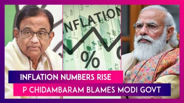 Inflation Numbers Rise, P Chidambaram, Former Finance Minister Blames Modi Govt's Policy On Fuel Prices