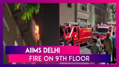 AIIMS Delhi: Fire On 9th Floor, Everyone Rescued, No Injuries Reported