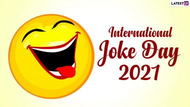 International Joke Day 2021: Know Date, History and Significance of the Day that Celebrates Laughter and Joy