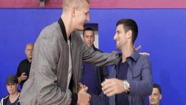Sports News   NBA: Djokovic Congratulates MBA Star Nikola Jokic on Winning MVP Award