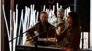AB de Villiers Performs his Favourite Song Along With Wife Danielle on his Father's 70th Birthday (Watch Video)