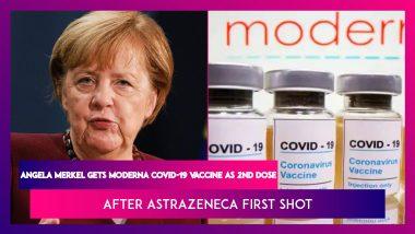 Angela Merkel, German Chancellor, Gets Moderna Covid-19 Vaccine As Second Dose After AstraZeneca First Shot