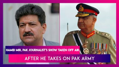 Hamid Mir, Renowned Pakistani Journalist's Show Taken Off Air After He Takes On Pakistan Army