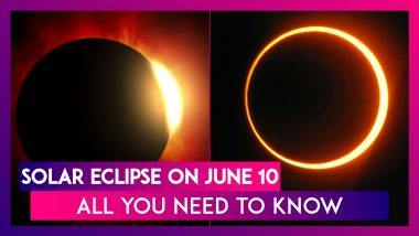 Solar Eclipse On June 10: Know Where Ring Of Fire To Be Visible & Other Details