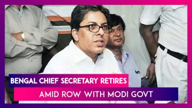 Alapan Bandyopadhyay Controversy: WB Chief Secretary Retires, Is Appointed Special Advisor To WB CM Mamata Banerjee