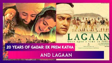 Gadar: Ek Prem Katha & Lagaan Mark 20 Years: Sunny Deol Thanks Fans; Aamir Khan & Lagaan Team's Reunion On Zoom