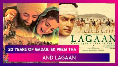 20 Years Of Gadar: Ek Prem Tha & Lagaan: Sunny Deol Thanks Fans; Aamir Khan & Lagaan Team's Reunion On Zoom