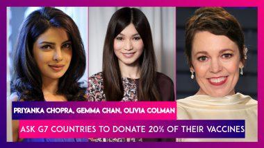 Priyanka Chopra, David Beckham, Gemma Chan, Olivia Colman Among Others Ask G7 Countries To Donate 20% Of Their Vaccines