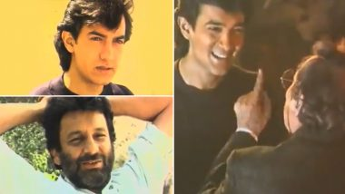 Tuesday Trivia: Check Out BTS Footage of Aamir Khan's Shelved Film With Shekhar Kapur Called Time Machine! (Watch Video)