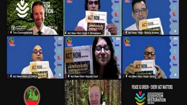 Business News   Act Now Organizes World's Longest Environment Online Event, Peace Is Green - Every Act Matters