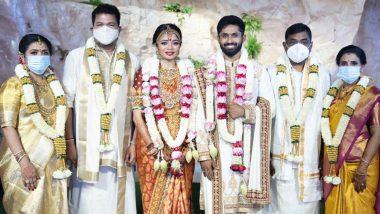 Director Shankar's Daughter Aishwarya Gets Married to Cricketer Rohit Damodharan (View Pics)