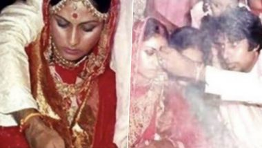 Amitabh Bachchan Celebrates 48th Wedding Anniversary With Jaya Bachchan By Sharing Priceless Wedding Pictures