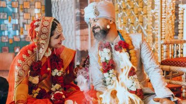 Anand Tiwari Marries Actress Angira Dhar in a Private Ceremony; Check Out Their Wedding Pictures!