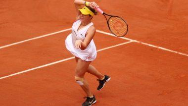 Anastasia Pavlyuchenkova vs Tamara Zidansek, French Open 2021 Live Streaming Online: How to Watch Free Live Telecast of Women's Singles Semi-Finals Tennis Match in India?